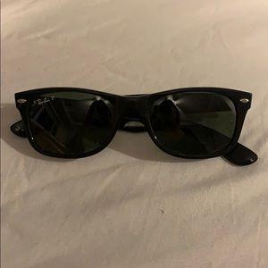 Ray-Ban - New Wayfarer Sunglasses (Black)